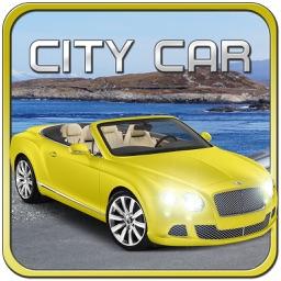 Sport Car Traffic Driving