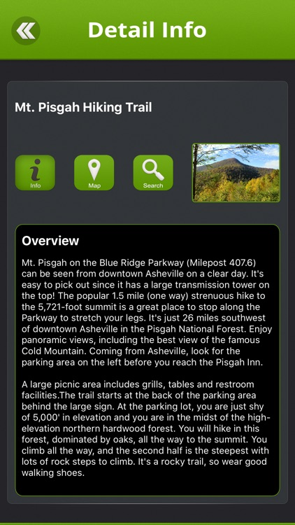 Blue Ridge Parkway Top 15 Stops screenshot-2