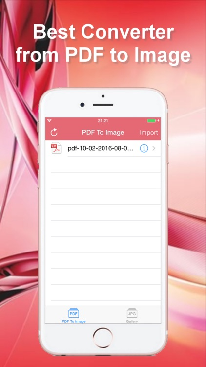 PDF To JPEG - Converter and Viewer