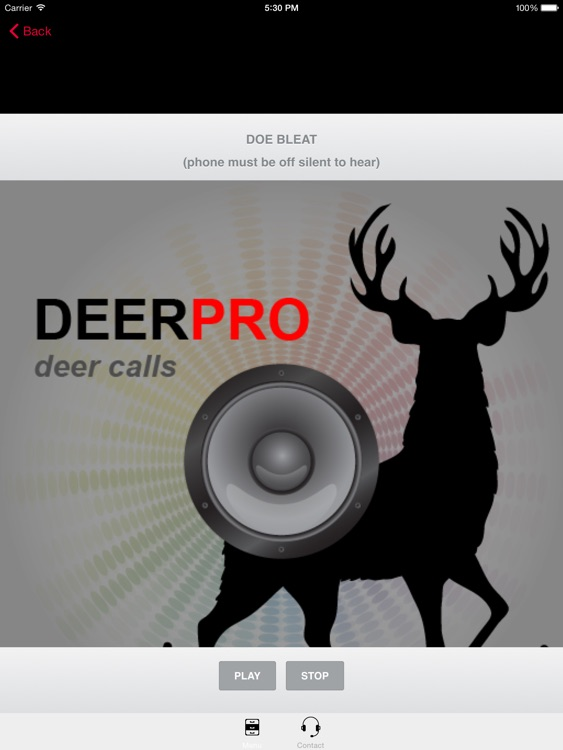 Deer Calls & Deer Sounds for Deer Hunting -- BLUETOOTH COMPATIBLE