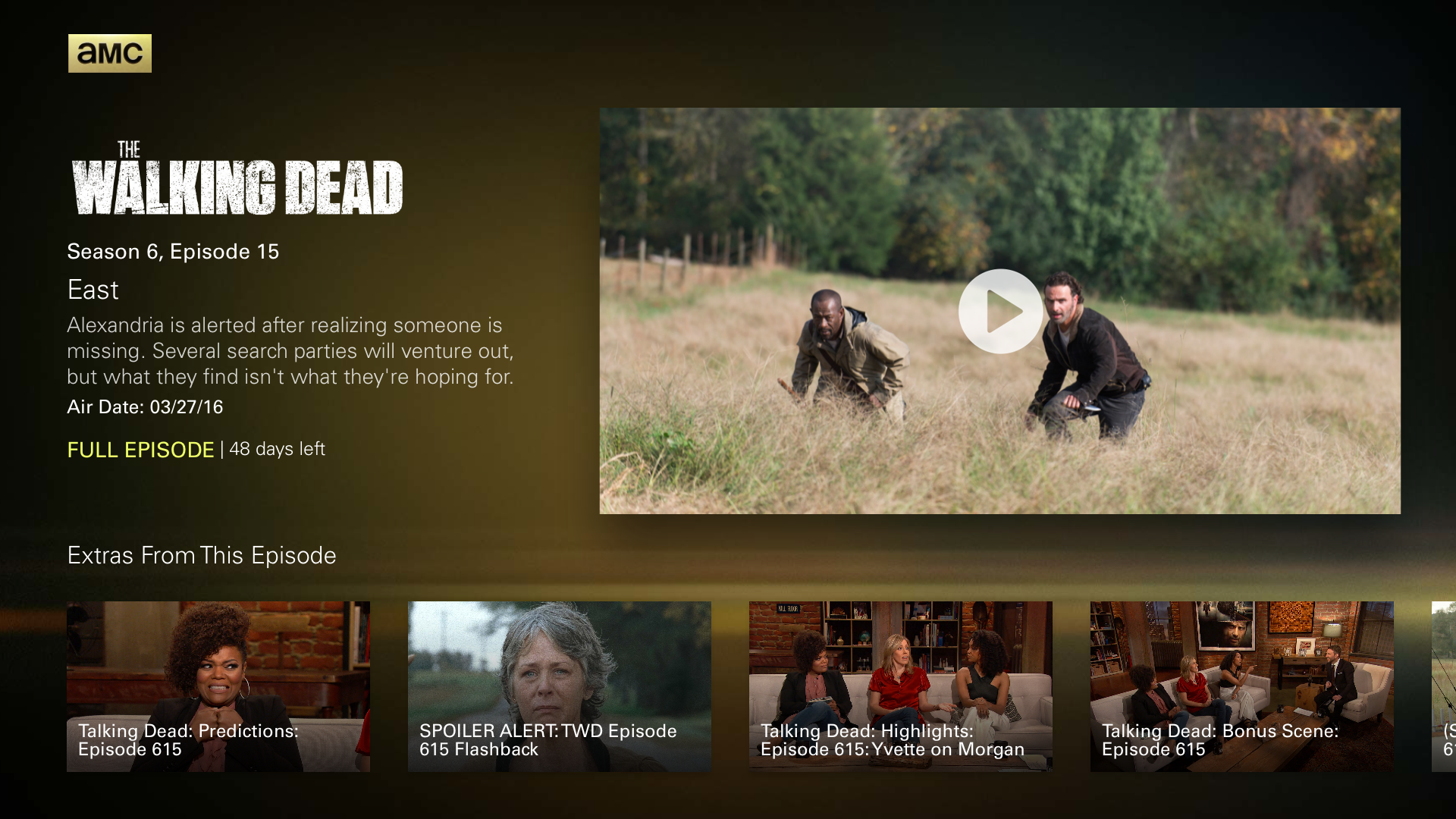 AMC: Stream TV Shows & Movies screenshot 13