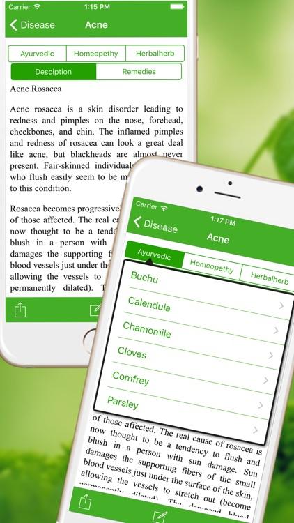 Medicinal Herbal Plants & Cures Herbs Free screenshot-3