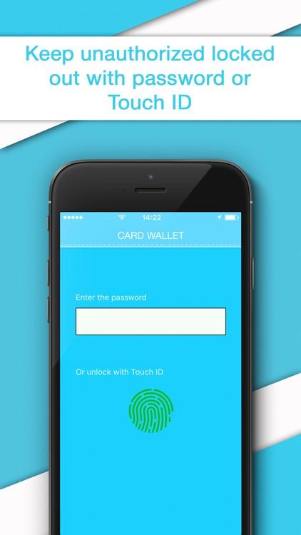 Credit Card Wallet - Reader & Scanner for Cards screenshot-3