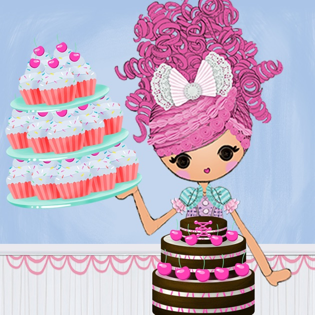 Lalaloopsy Cake Fashion Game