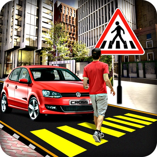 Cross the road : real highway speedy vehicles