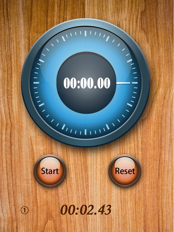 StopWatch for iPad