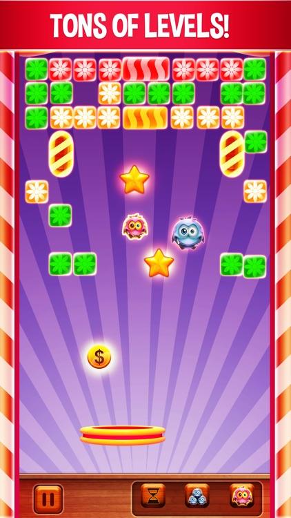 Candy Little Monster: Brick Breaker Free screenshot-3