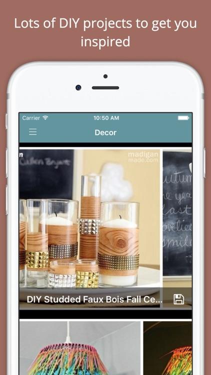 DIY Decor Project Ideas PRO - Handmade tutorials screenshot-4