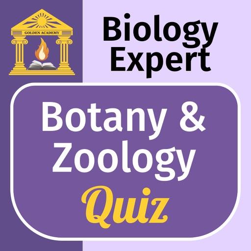 Biology Expert : Botany & Zoology Quiz icon