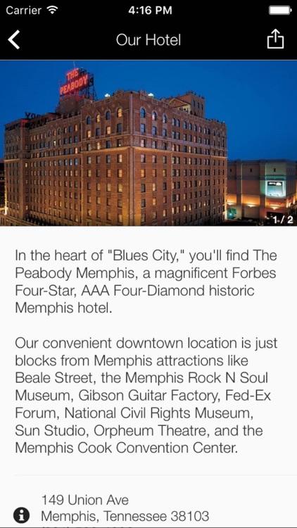 Peabody Memphis screenshot-3