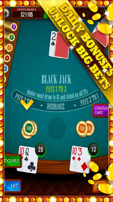Rxy Blackjack Multiple 21 High Low Card Counting Strategies Screenson Ios