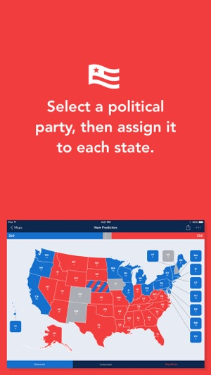 Electoral 2016 Create Presidential Election Maps On The App Store