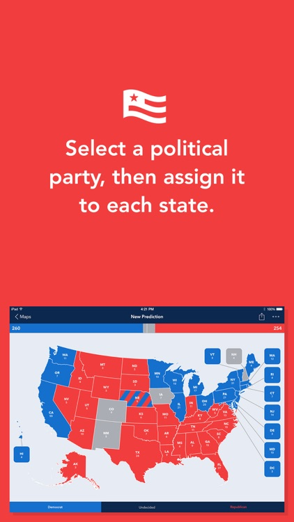 Electoral 2016 - Create Presidential Election Maps