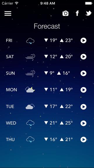 ZeroWeather Forecast screenshot two