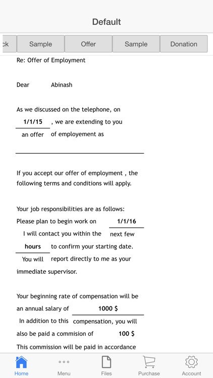 Business Letter screenshot-4