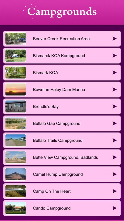 North Dakota Campgrounds and RV Parks