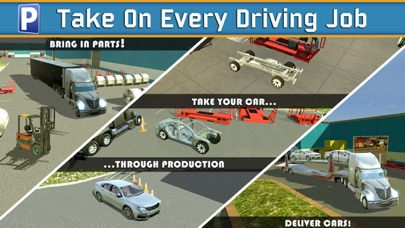 Car Factory Parking Simulator a Real Garage Repair Shop Racing Gameのおすすめ画像2