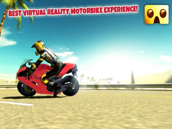 Screenshot #5 for VR Motorbike Simulator : VR Game for Google Cardboard