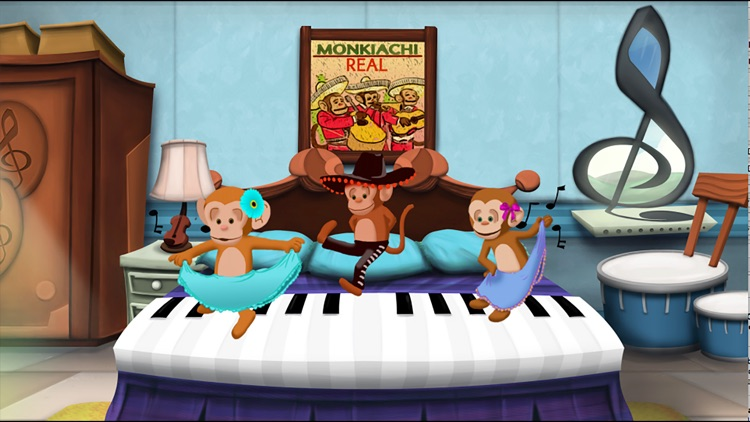 5 Musical Monkeys