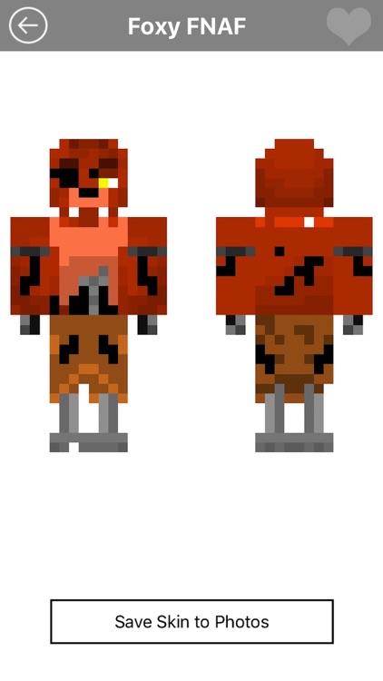 Skins for FNAF for Minecraft PE