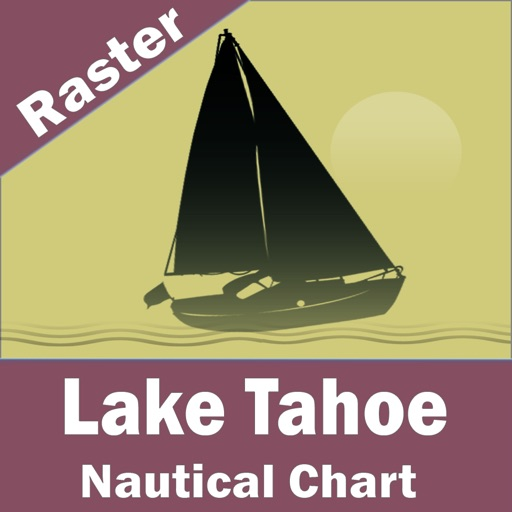 Lake Tahoe – Raster Nautical Charts