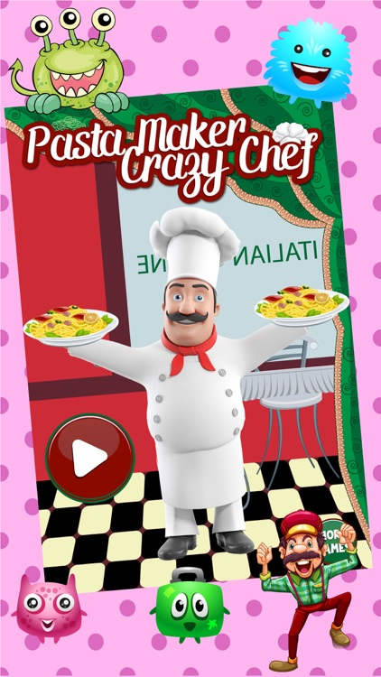Pasta Maker – Crazy Star Chef Kitchen Cooking games for girls