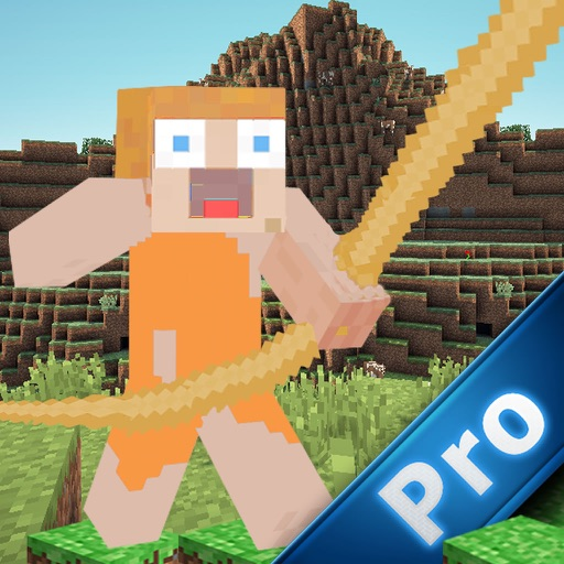 Minerope PRO - Block Crossy Rope 3D icon