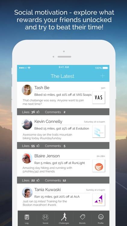 Vea Fitness: Run, Bike & Gym Tracking & Rewards screenshot-3