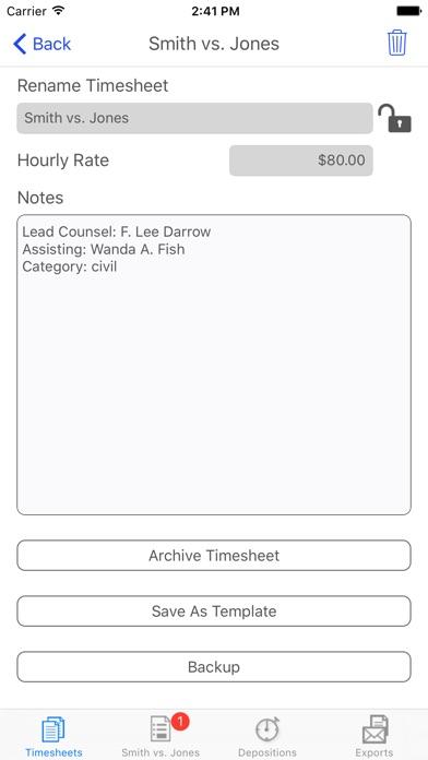 Ipunchclock review screenshots