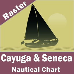 Cayuga-Seneca Lakes (New York) - Raster Nautical Charts