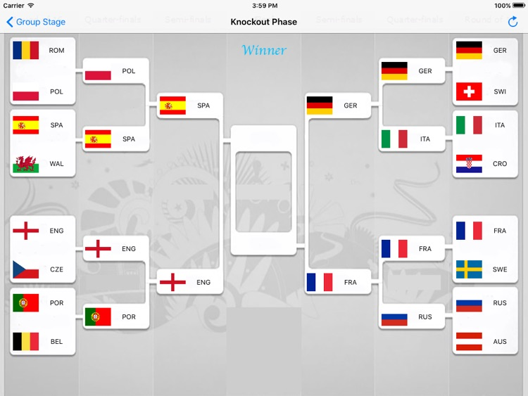 PREDICTION of UEFA EURO 2016 FRANCE screenshot-3