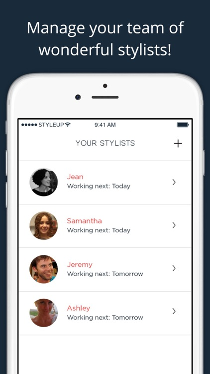 StyleUp for Salons - Scheduling & management screenshot-1