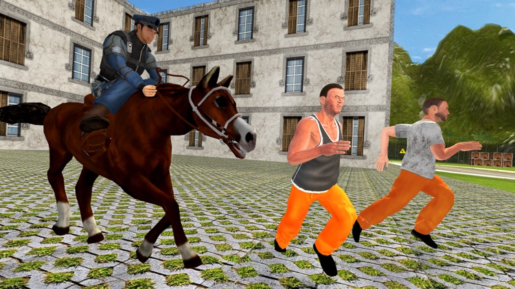 Prisoner Escape Police Horse - Chase & Clean The City of Crime From Robbers & Criminals