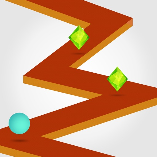 Impossible Zig-Rush On The Go Endless Arcade Game iOS App
