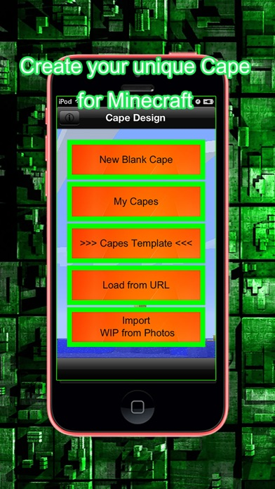 Cape for Minecraft at AppGhost com