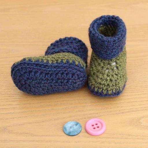 4e033d6ae Crochet Baby Shoes by BearTech Bilisim