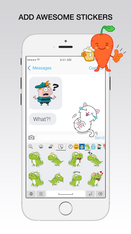 Emoji Search Keyboard - Find new emojis & emoticons, fun cute Stickers and Art Combos screenshot-4