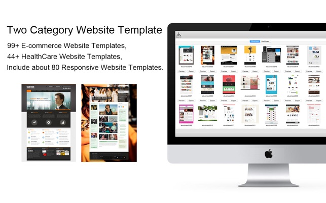 Website template e business healthcare with html files pack1 on screenshots flashek Image collections