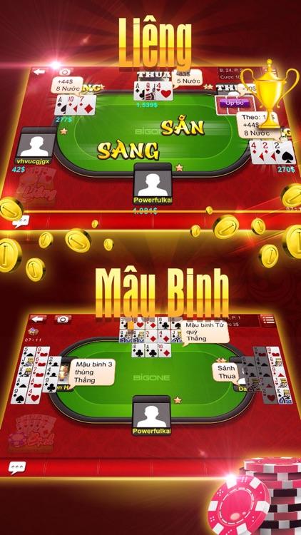 BigOne - Game đánh bài tiến lên chắn phỏm online