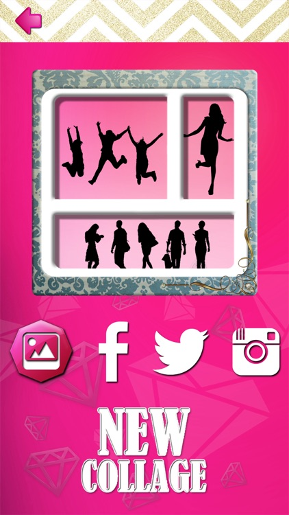 Glamorous Collage Maker for Girls - Stitch and Split Beautiful Pics in Photo Editor screenshot-3