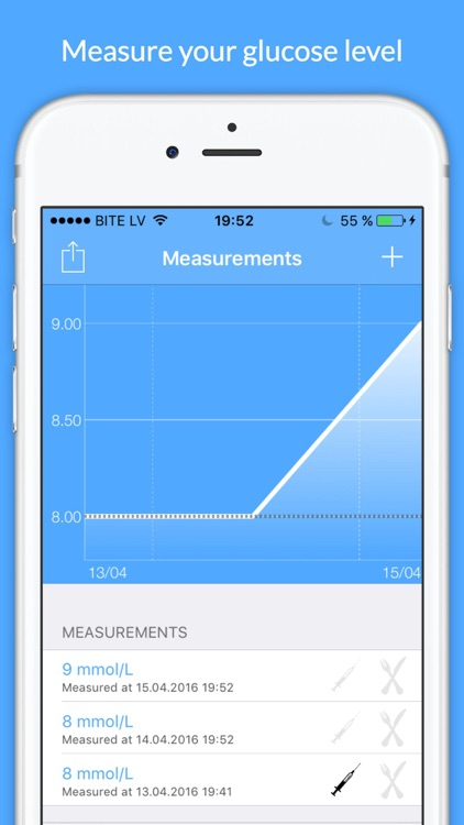 Diabetes Tracker - glucose level tracking screenshot-0