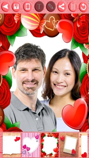 Marcos de amor para San Valentín editor de imágenes para tus fotos ...
