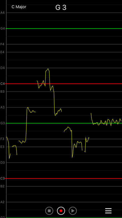 Vocal Pitch Monitor screenshot three