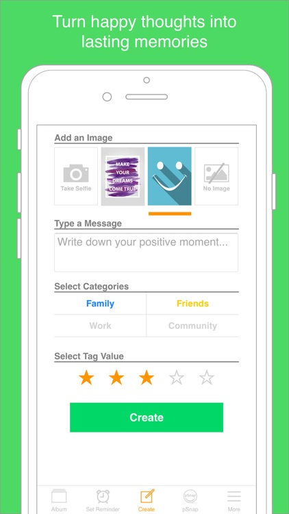 The Positive Selfie App screenshot-2