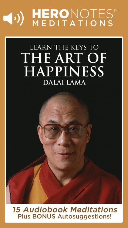 The Art of Happiness: A Meditation Audiobook On Buddhism By His Holiness The Dalai Lama