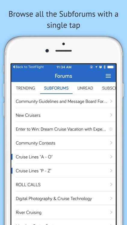 Cruise Critic Forums screenshot-3