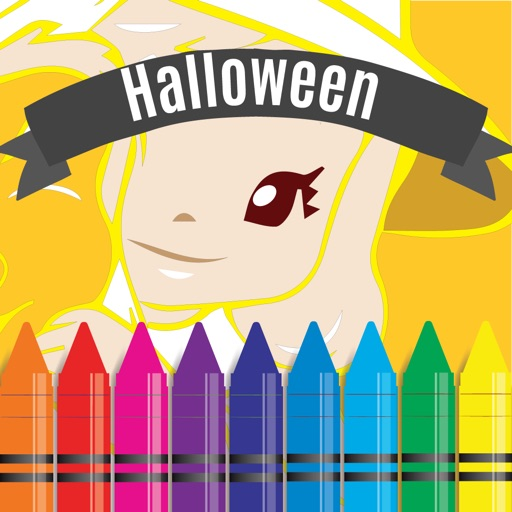 Halloween Coloring and Alphabet numbers games for kids