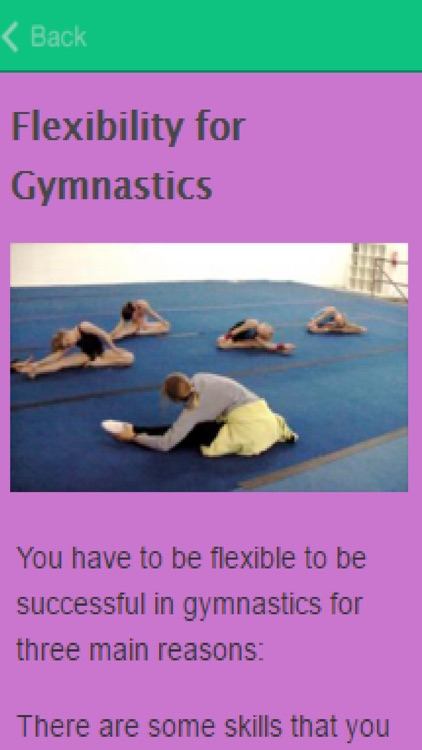 How To Be Flexible