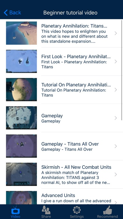 Video Walkthrough for Planetary Annihilation: Titans
