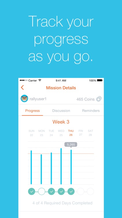 Rally℠ - Build healthy habits and earn rewards